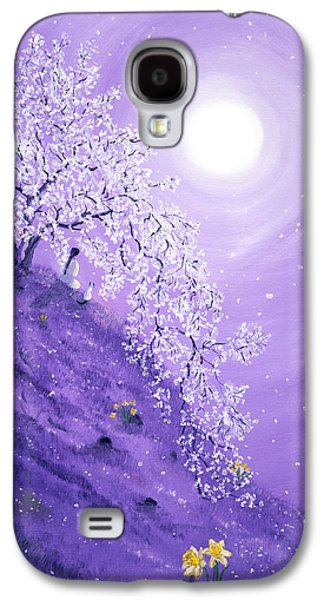 Daffodil Dawn Meditation Galaxy S4 Case by Laura Iverson