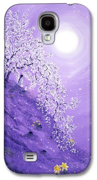 Daffodil Dawn Meditation Galaxy S4 Case by Laura Iverson