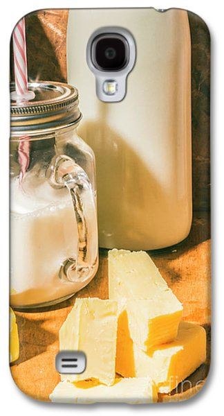 Dairy Farm Products Galaxy S4 Case by Jorgo Photography - Wall Art Gallery