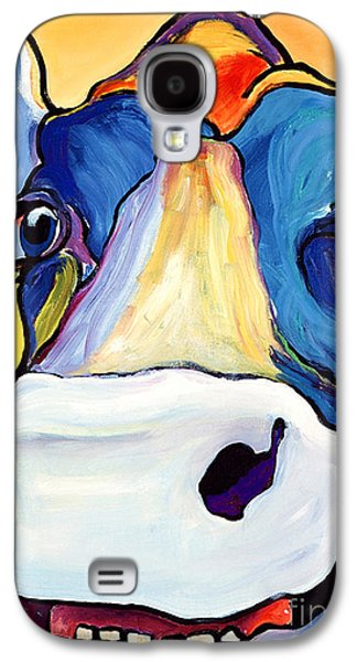 Cow Galaxy S4 Case - Dairy Queen I   by Pat Saunders-White