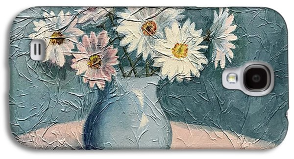 Daisies Galaxy S4 Case by Janet King