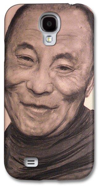 Dalai Lama Galaxy S4 Case by Adrienne Martino