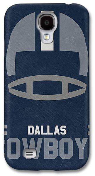 Dallas Cowboys Vintage Art Galaxy S4 Case by Joe Hamilton