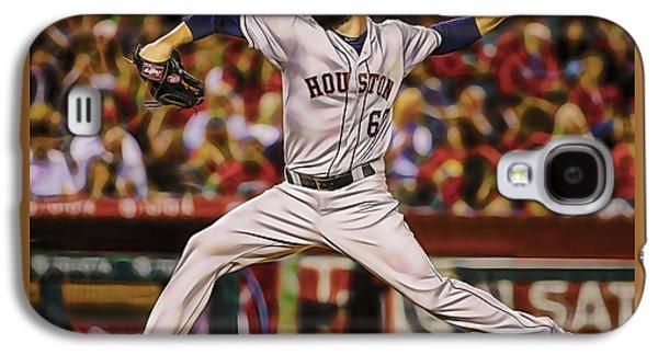 Dallas Keuchel Baseball Galaxy S4 Case