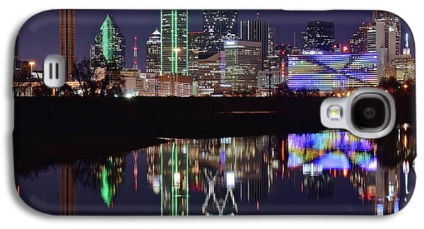 Dallas Reflecting At Night Galaxy S4 Case