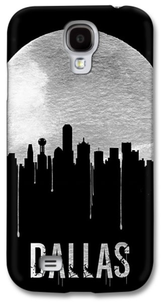 Dallas Skyline Black Galaxy S4 Case