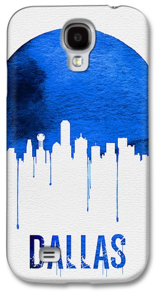 Dallas Skyline Blue Galaxy S4 Case
