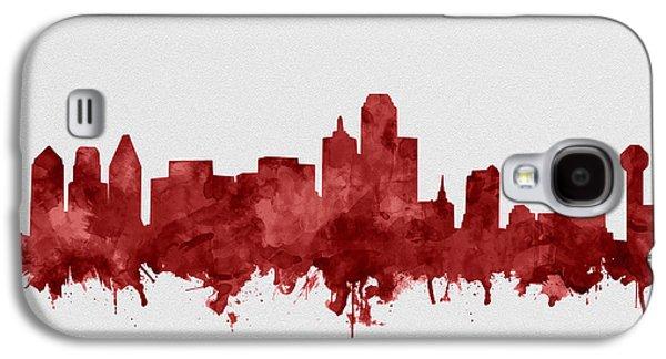 Dallas Skyline Red Galaxy S4 Case
