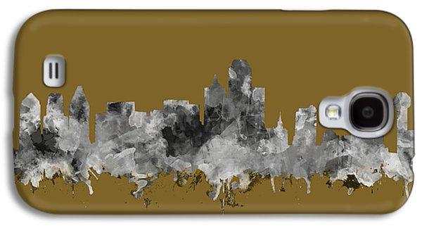 Dallas Skyline Watercolor 2 Galaxy S4 Case