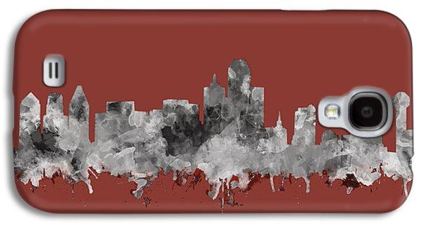 Dallas Skyline Watercolor 3 Galaxy S4 Case