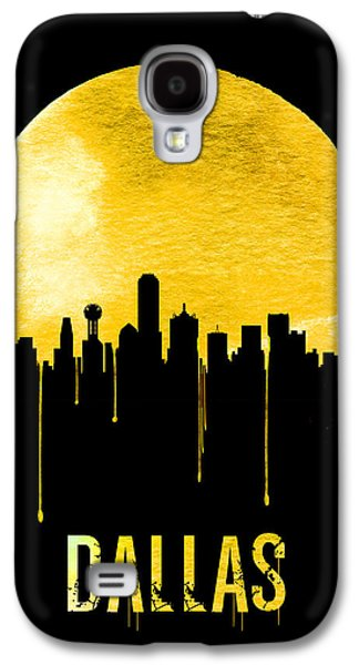 Dallas Skyline Yellow Galaxy S4 Case