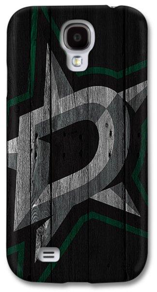 Dallas Stars Wood Fence Galaxy S4 Case
