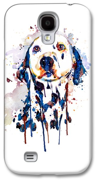 Dalmatian Head Galaxy S4 Case by Marian Voicu