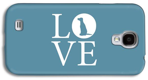 Dalmatian Love Galaxy S4 Case by Nancy Ingersoll