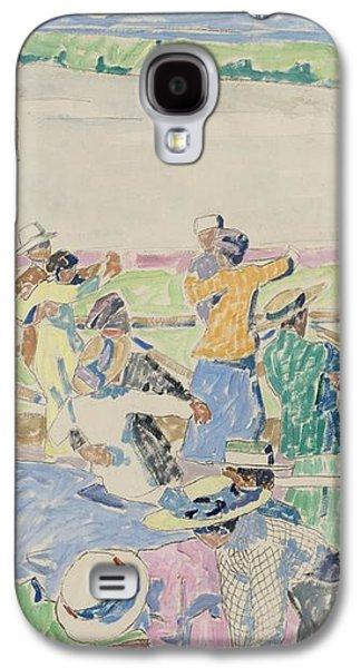 Dance Floor Galaxy S4 Case by Carl Wilhelmson