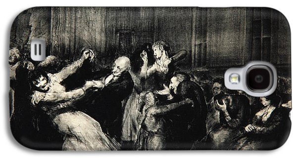 Dance In A Madhouse Galaxy S4 Case by George Wesley Bellows