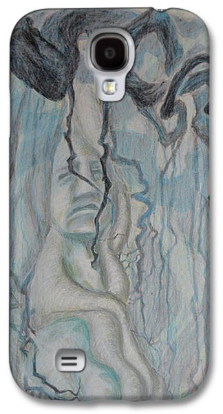 Dance Of Nematodes And Roots Galaxy S4 Case by Nancy Mauerman