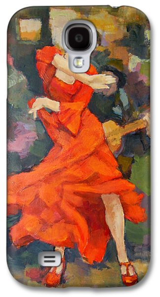 Dance Painting Carmen Galaxy S4 Case by Alfons Niex