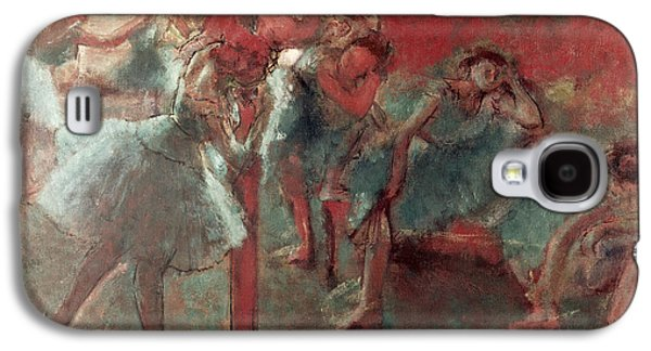 Dancers At Rehearsal Galaxy S4 Case by Edgar Degas