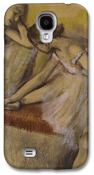 Dancers In Repose Galaxy S4 Case by Edgar Degas