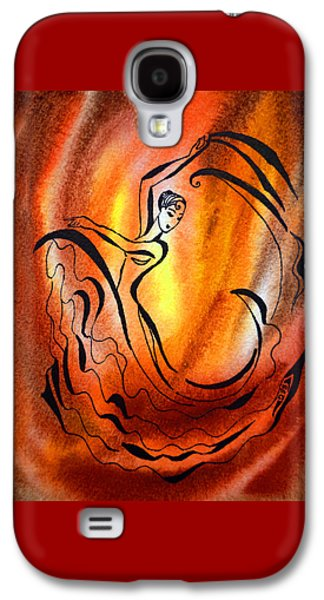 Dancing Fire I Galaxy S4 Case