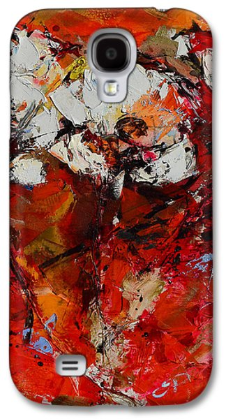 Dancing Flowers Galaxy S4 Case by Elise Palmigiani
