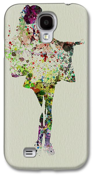 Singing Paintings Galaxy S4 Cases - Dancing Geisha Galaxy S4 Case by Naxart Studio