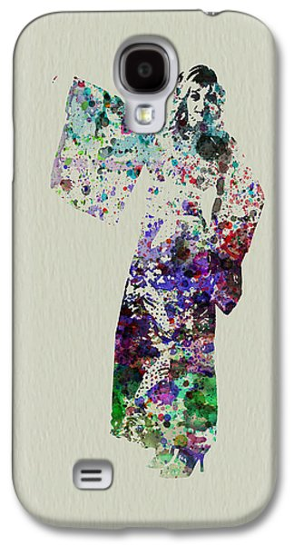 Singing Paintings Galaxy S4 Cases - Dancing in Kimono Galaxy S4 Case by Naxart Studio