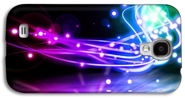Dancing Lights Galaxy S4 Case by Setsiri Silapasuwanchai