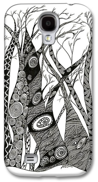 Dancing Trees Galaxy S4 Case