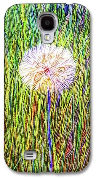 Dandelion In Glory Galaxy S4 Case by Joel Bruce Wallach
