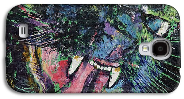 Ferocious Galaxy S4 Case by Michael Creese
