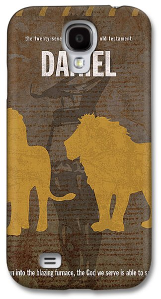 Daniel Books Of The Bible Series Old Testament Minimal Poster Art Number 27 Galaxy S4 Case
