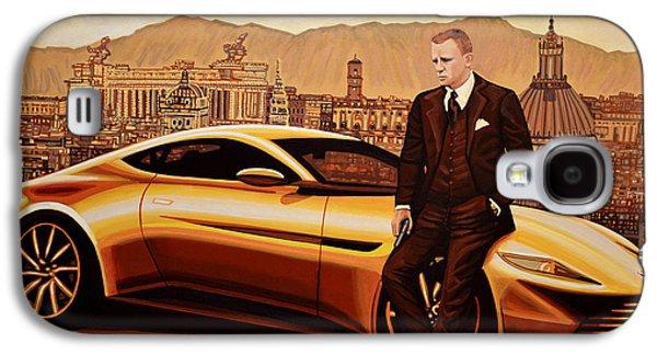 Daniel Craig As James Bond Galaxy S4 Case by Paul Meijering