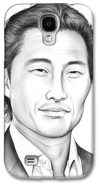 Daniel Dae Kim Galaxy S4 Case by Greg Joens