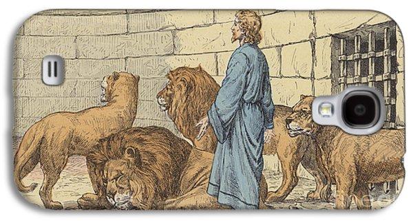 Daniel In The Lions' Den Galaxy S4 Case