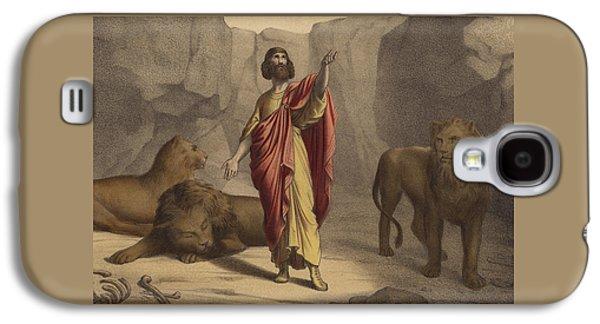 Daniel In The Lion's Den Galaxy S4 Case
