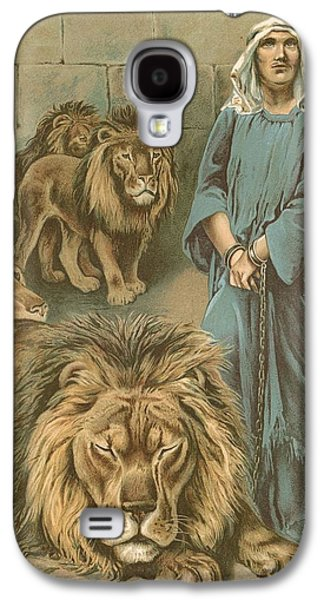 Daniel In The Lions Den Galaxy S4 Case by John Lawson