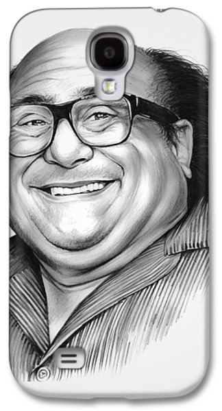 Danny Devito Galaxy S4 Case by Greg Joens