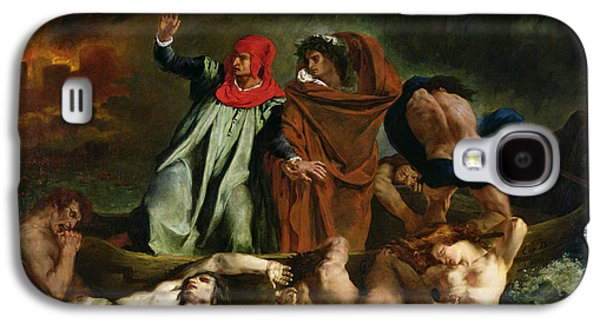 Dante And Virgil In The Underworld Galaxy S4 Case by Ferdinand Victor Eugene Delacroix