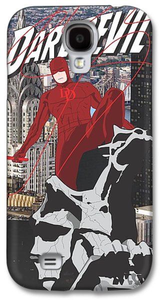 Daredevil Galaxy S4 Case by Troy Arthur Graphics