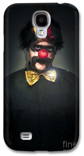 Dark Foreboding Clown Galaxy S4 Case