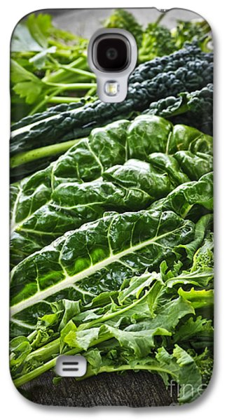 Broccoli Galaxy S4 Case - Dark Green Leafy Vegetables by Elena Elisseeva