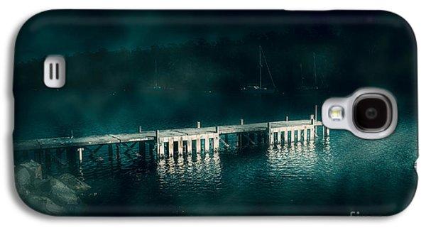 Dark Haunting Wooden Pier Galaxy S4 Case