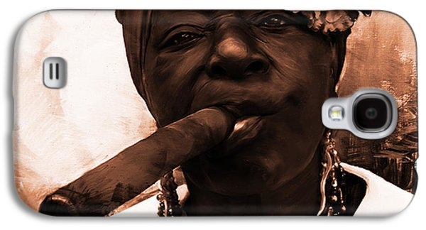Dark Smoke 02 Galaxy S4 Case by Gull G