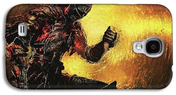 Dark Souls Galaxy S4 Case by Taylan Apukovska