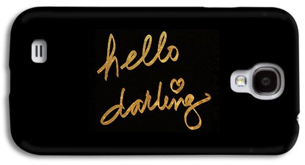 Darling Bella I Galaxy S4 Case by South Social Studio