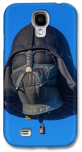 Darth Vader Helmet Hot Air Balloon Galaxy S4 Case by Garry Gay