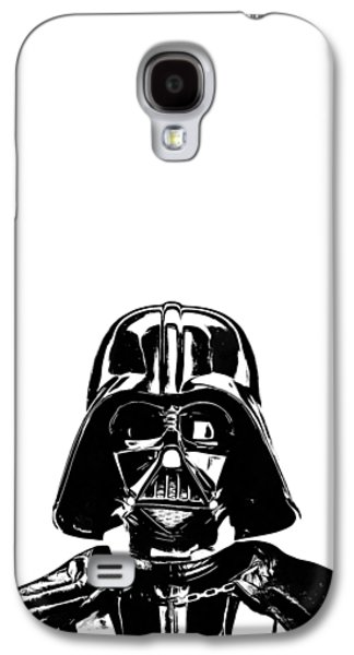 Darth Vader Painting Galaxy S4 Case by Edward Fielding