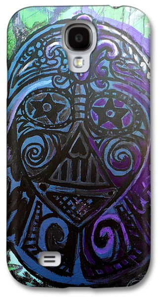 Darth Vader Sugar Skull Galaxy S4 Case by Genevieve Esson